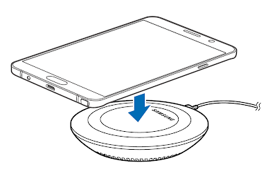 Manual and Tutorial : Samsung Galaxy Note 5 Fast Wireless Charging