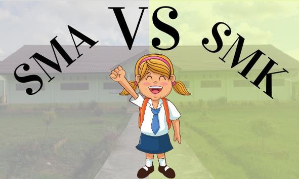 Lagi bingung Milih SMA atau SMK? Bagus yang mana?