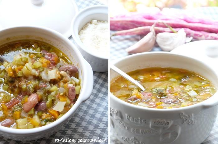 Variations gourmandes la soupe au pistou aux l gumes de for Plat unique convivial entre amis