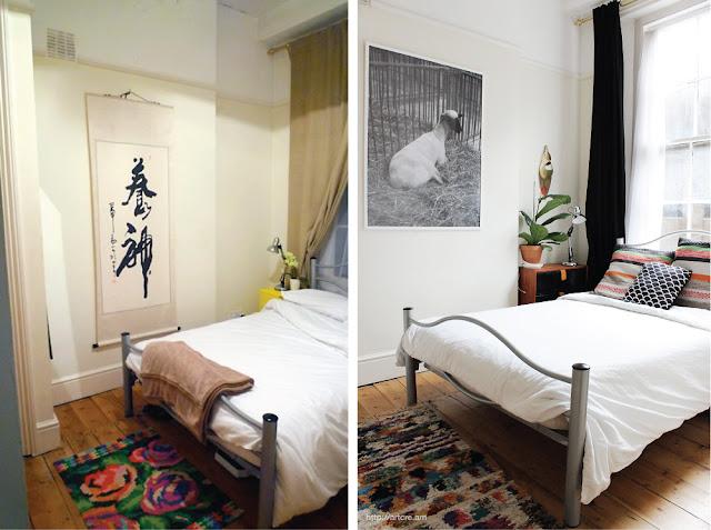 8 Sencillos antes y después de un dormitorio