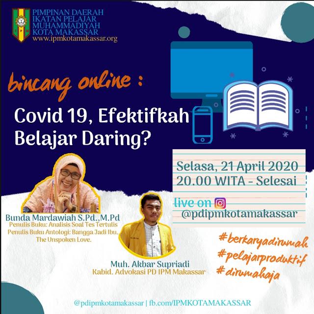 Covid-19, Efektifkah Mengajar Daring?