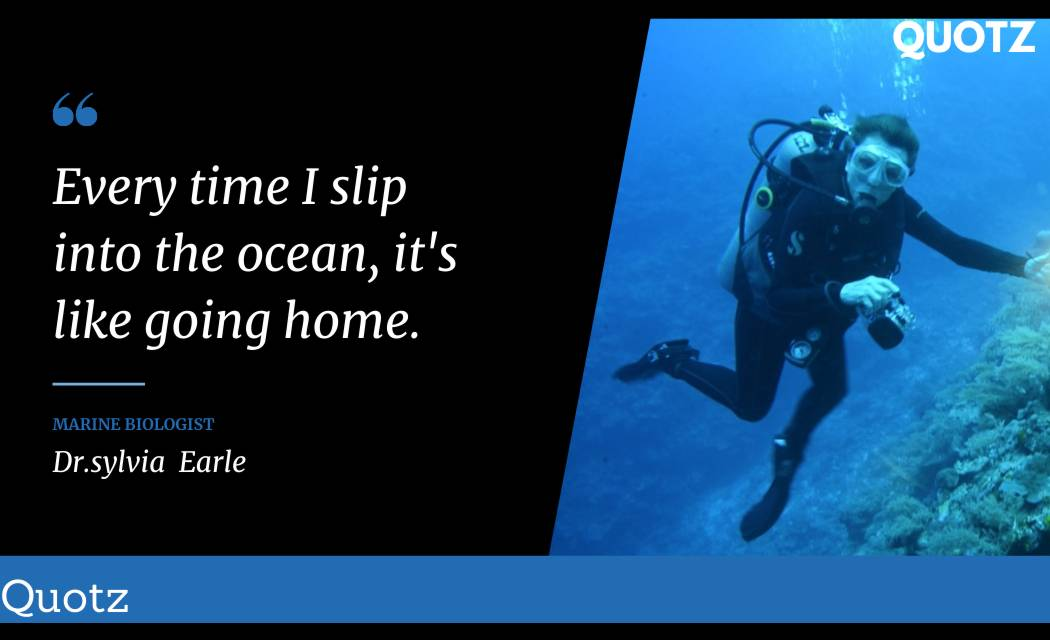 BEST 20+ Quotes BY DR.SYLVIA EARLE WITH QUOTES IMAGES