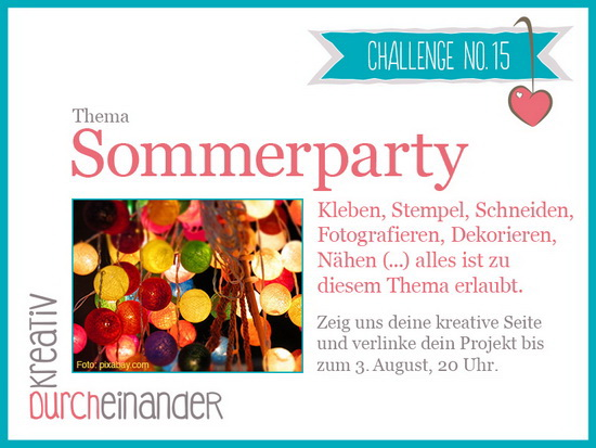 Kreativ Durcheinander Challenge Party