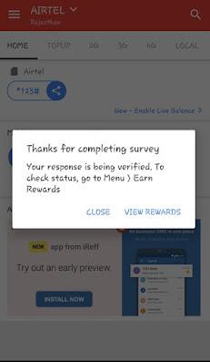 IREFF Surveys To Earn Paytm Cash