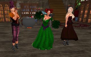 Hocus Pocus, Lotta w/Queenie & Kyshra