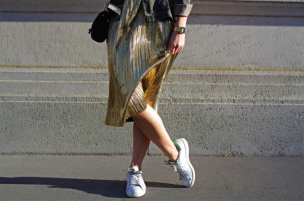 Elizabeth l Gold x Camo outfit l THEDEETSONE l http://thedeetsone.blogspot.fr