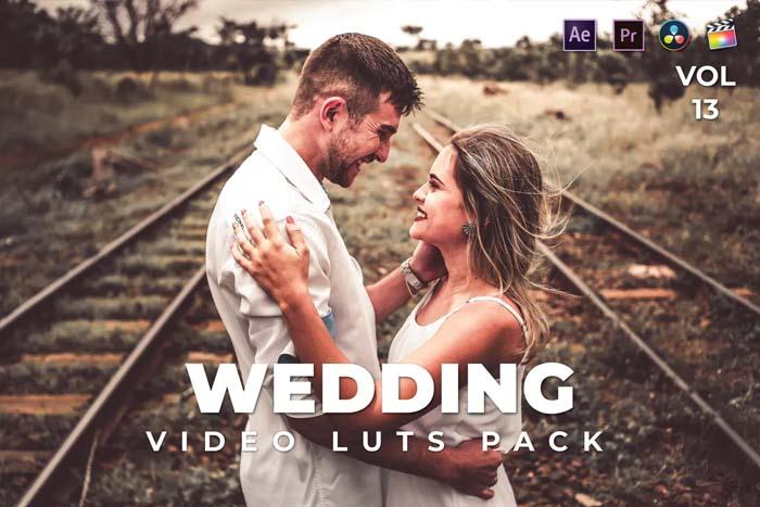 Wedding Pack Video LUTs Vol.13