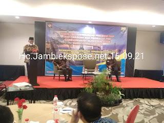 Wakil Gubernur Jambi Secara Resmi Membuka Rakor Perizinan Dan Nonperizinan PTSP Se-Provinsi Jambi