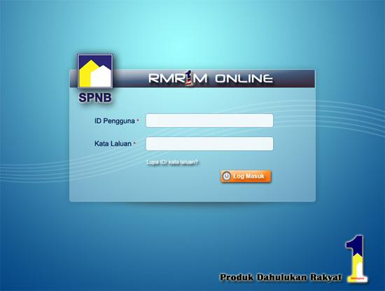 permohonan online rumah mesra rakyat 1malaysia