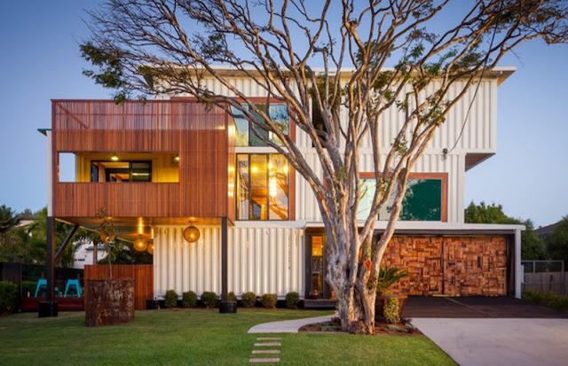 Desain Rumah Kontainer Terbaru