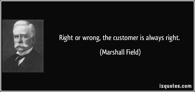 O que diabos aconteceu com 'O cliente está sempre certo'? 14