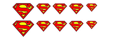 DIY Superman Nail Art. Easily and quickly make your own Superman nail art look perfect for every day or birthday celebrations. It's so easy even a novice like me can do it!