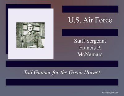 A short biopic about US Air Force Staff Sergeant Francis P McNamara  - WWII  - Killed in Action - Missing in Action