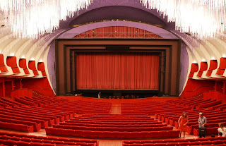 The modern auditorium at the Teatro Regio of today