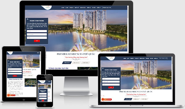 Mẫu blog bất động sản 1 dự án đẹp 2019