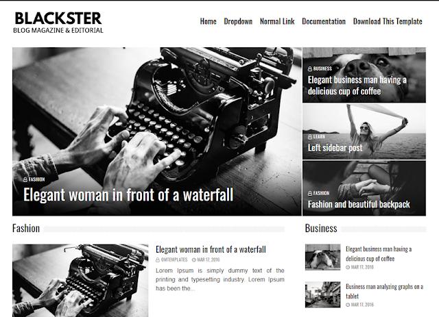 blackster-blogger-template