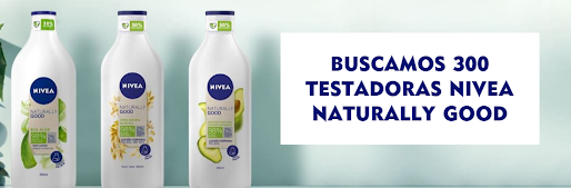 Prueba gratis Nivea Naturally Good