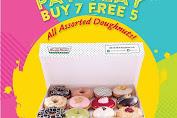 Krispy Kreme Promo PAY-YEAY! Beli 7 Gratis 5 All ASSORTED doughnut Rp.84.000/lusin!