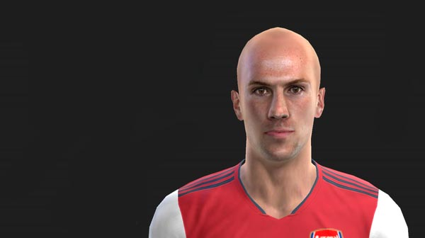 Rob Holding Face (Short Hair and Bald) For PES 2013