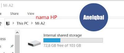 cara mengirim foto ke laptop lewat kabel data