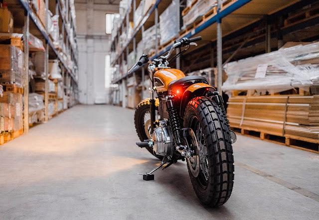 Harley Davidson Sportster By Hombrese Bikes Hell Kustom