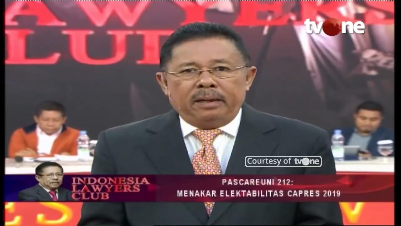 Klarifikasi Isu Dipanggil Istana, Karni Ilyas Sindir Presiden?