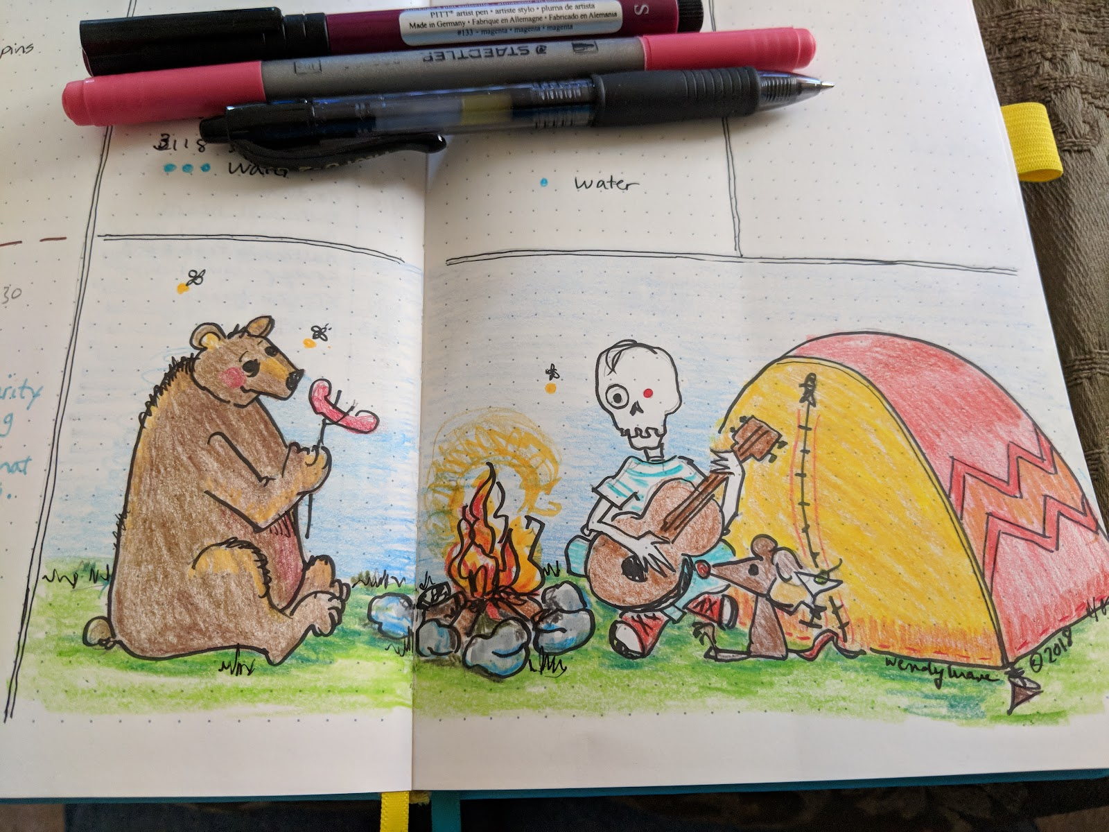 World Of Wendy Lu A Small Drawing