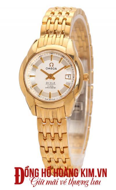Đồng hồ omega nữ dây sắt thời trang