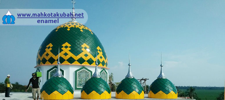 Kubah Masjid Enamel Harga Murah Pemalang