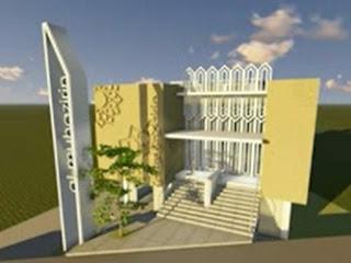 masjid al muhajirin bandung bag depan