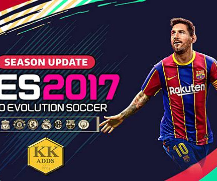 PES 2017 Unofficial Update For KK Patch Season 2020/21