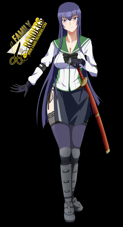 render Busujima Saeko