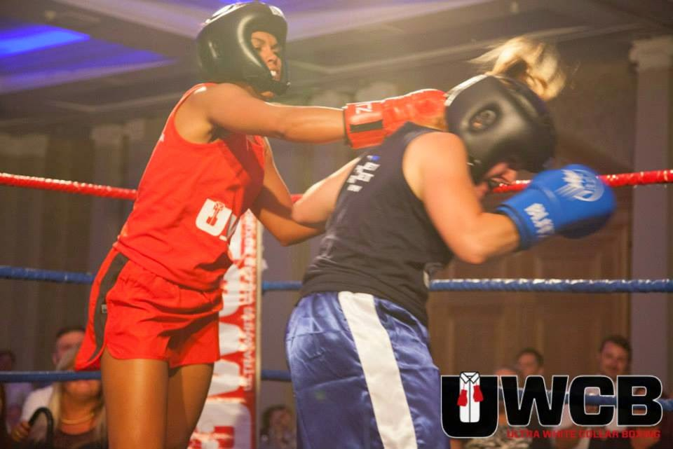 Ladies Ultra White Collar Boxing - Brighton - Tess Agnew Pocket Rocket