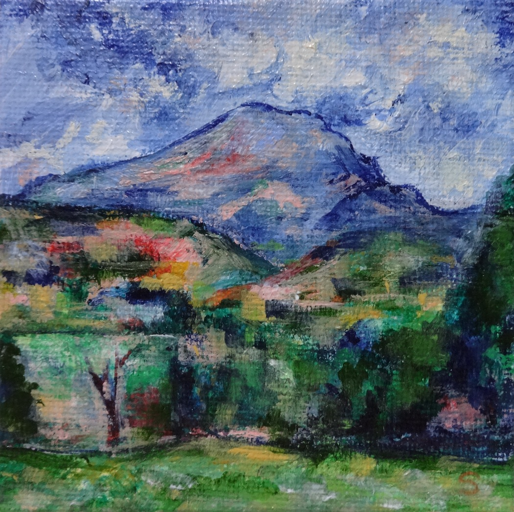 Whst Mountain Did Cezanne Most Famously Paint