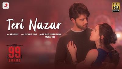 Shashwat Singh - Teri Nazar Lyrics