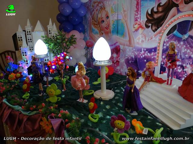 Ornamentação de festa Barbie Pop Star