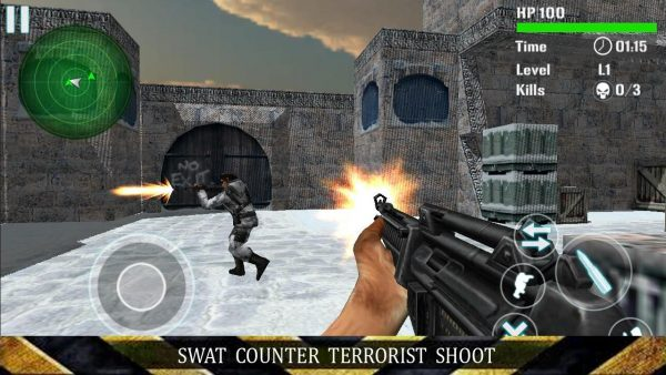 SWAT Counter Terrorist Shoot Apk Mod  Money