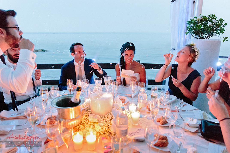 sposi matrimonio Baba Beach Alassio