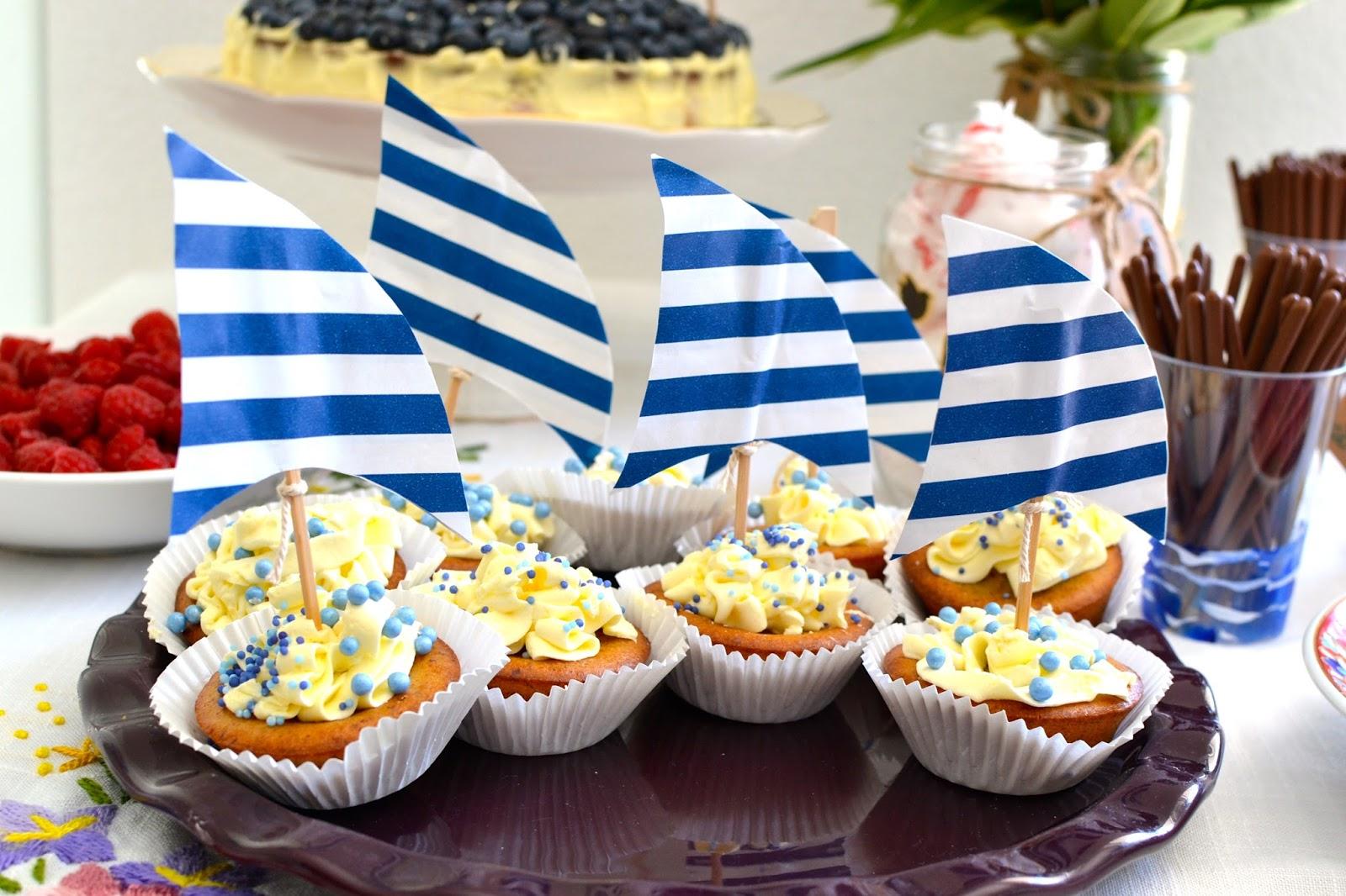 Una babyshower marinera a golpe de objetivo - Fiesta marinera decoracion ...