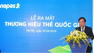 Việt Nam vừa cho ra mắt thẻ thương hiệu quốc gia mang tên NAPAS