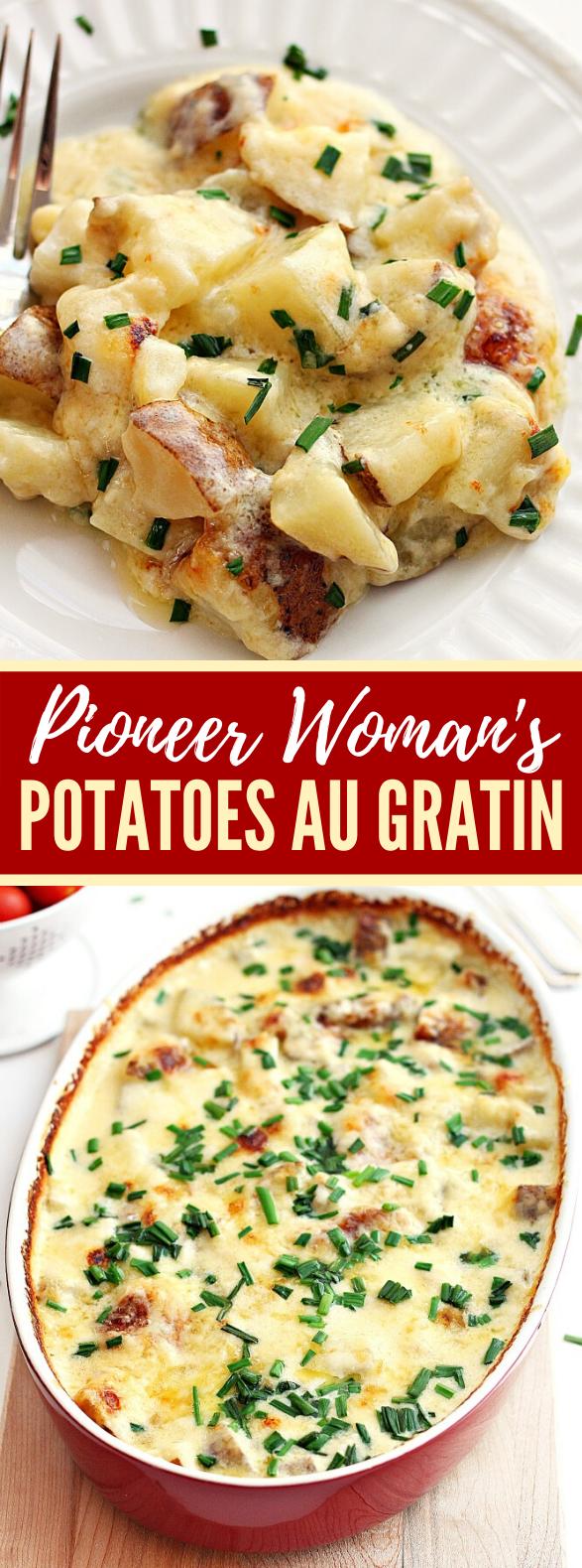 PIONEER WOMAN'S POTATOES AU GRATIN #dinner #holidaymeal
