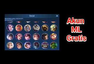 Akun Mobile Legend gratis
