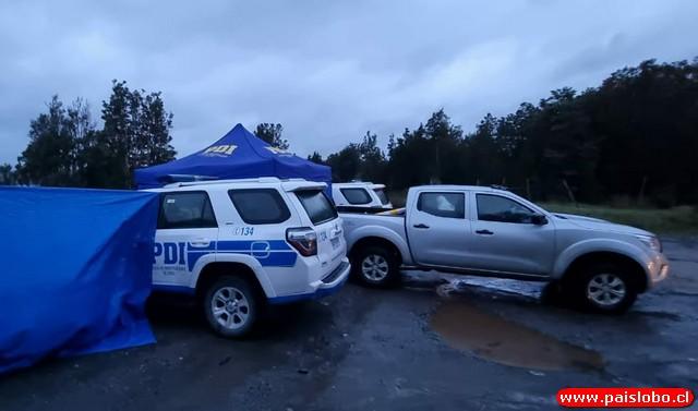 Hallazgo de dos cadáveres al interior de un vehículo sumergido