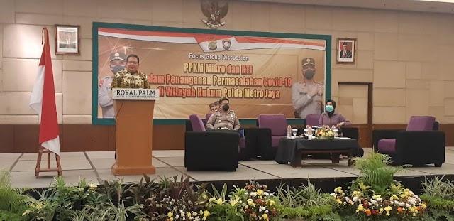 Dirbinmas Polda Metro Jaya Gelar Focus Group Discusion Kampung Tangguh Jaya dan PPKM Mikro