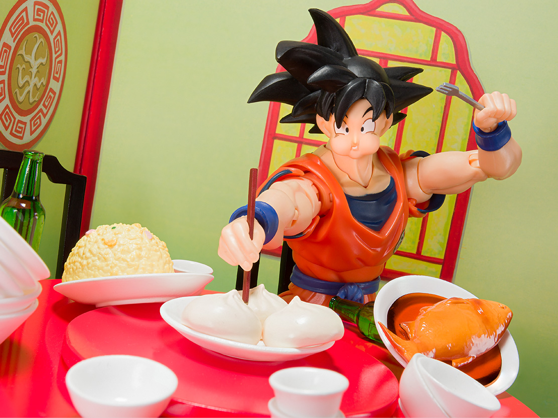 S.H.Figuarts Son Goku's Belly Eighth Set Tamashii Nations