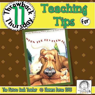 When The Fly Flew In...Teaching Tips - TBT