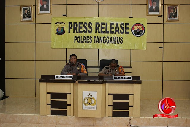 Kasus Kriminal di Tanggamus Meningkat  Tajam Tahun 2016