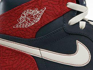 lowest price b97c3 e4f30 THE SNEAKER ADDICT  Air Jordan 1 Retro High Red Elephant Print Sneaker