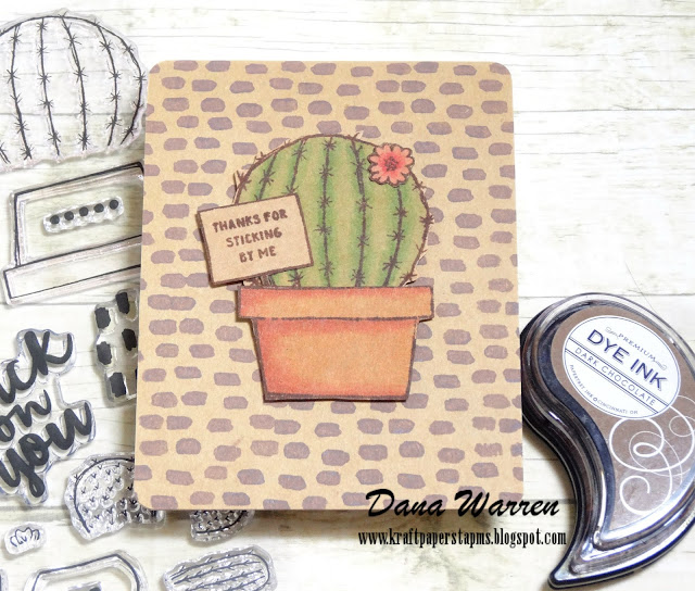 Dana Warren - Kraft Paper Stamps - Concord & 9th
