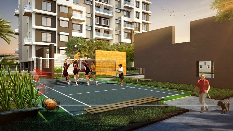 Football Court Area In Township